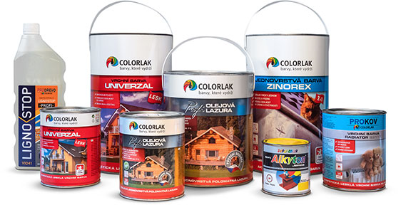 barvy na dřevo a kov